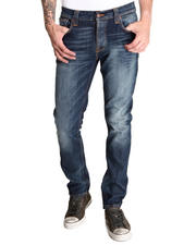 Denim - Grim Tim Organic Teal Blue Jeans
