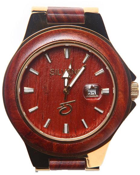 Drj Accessories Shoppe Men Silvano Gracieux Watch Gold 1SZ