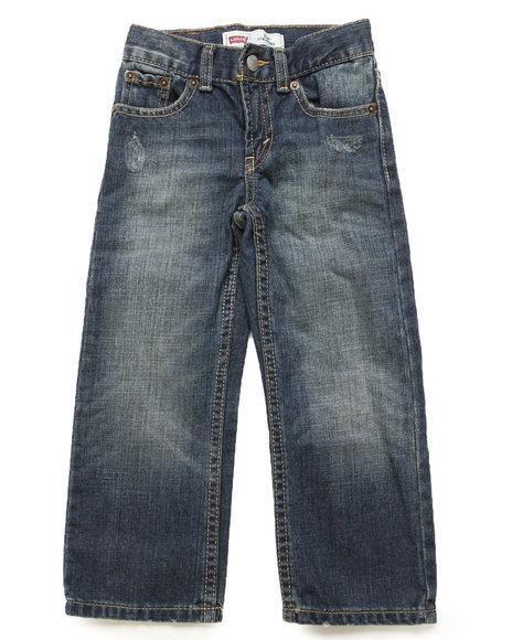 Levi's Boys Vintage Wash 514 Atlas Slim Straight Jeans (4-7X)
