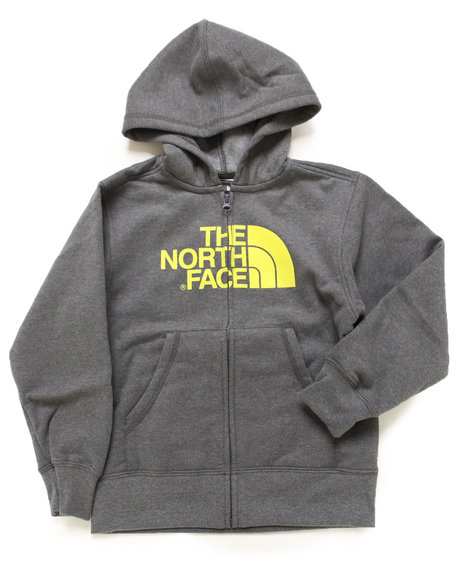 The North Face - Boys Grey Half Dome Full Zip Hoody (4-20)