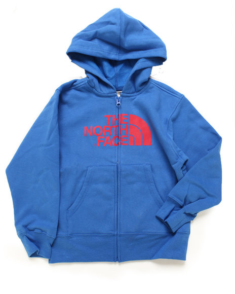 The North Face Boys Blue Half Dome Full Zip Hoody (4-20)