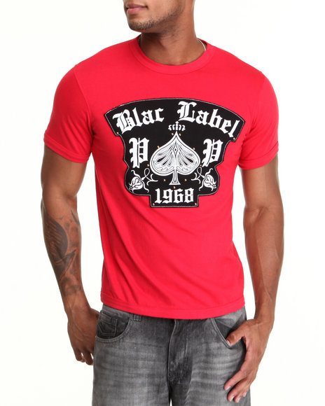 Blac Label Men Red 1968 S/S Tee