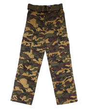 Bottoms - CAMO CARGO PANTS (8-20)