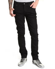 Nudie Jeans - Grim Tim Organic Black Ring Jeans
