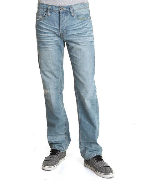 Men S Light Wash Jeans