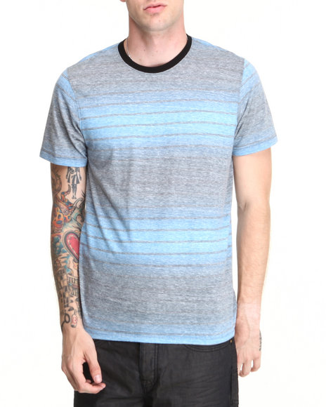 Hurley Blue Wedge Crew Tee