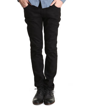 Nudie Jeans - Thin Finn Organic Black Ring Jeans