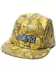 Hats - DimePiece Yellow Snake 5 panel hat