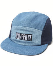 Hats - DimePiece 4 way denim 5 panel hat