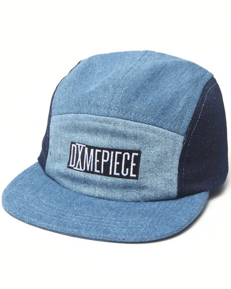 Dimepiece Women Dimepiece 4 Way Denim 5 Panel Hat Blue