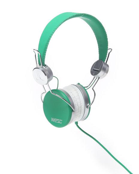 Wesc Men Banjar Headphones Forest Green 1SZ