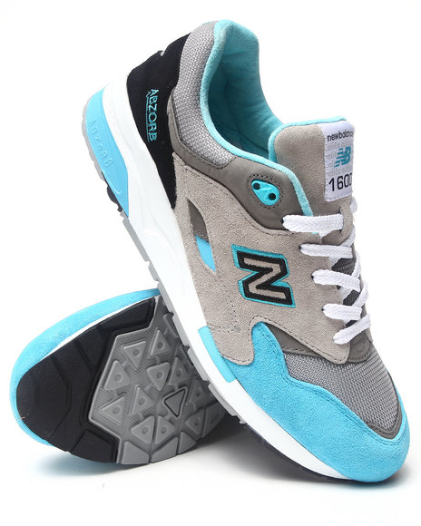 New Balance - Men Blue 1600 Sneakers