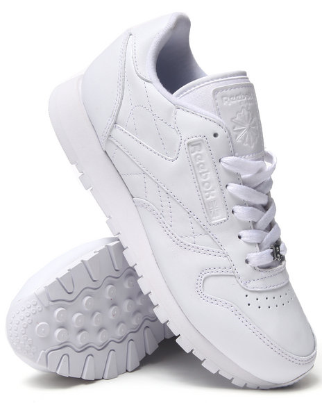 Reebok - Women White Cl Leather Sneakers