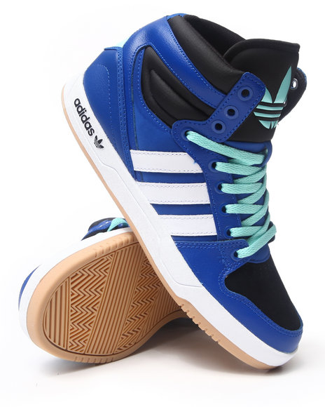 Adidas Men Court Attitude Sneakers Blue 8.5