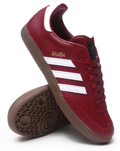 Adidas Men Samba Sneakers Maroon 10