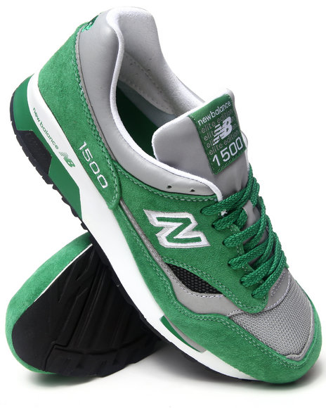 New Balance - Men Green 1500 Sneakers