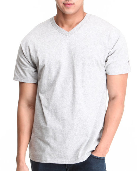 Champion Grey Champion V-Neck Tee