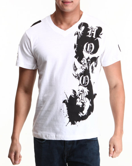 Blac Label Men White Honor S/S Tee