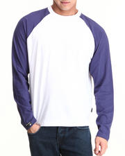 Men - Raglan Long Sleeve Top