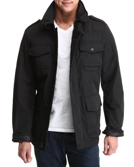 Levi's Black Poly-Twill 5 Pocket Field Jacket