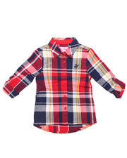 Holiday Shop - Girls - PLAID WOVEN (4-6X)