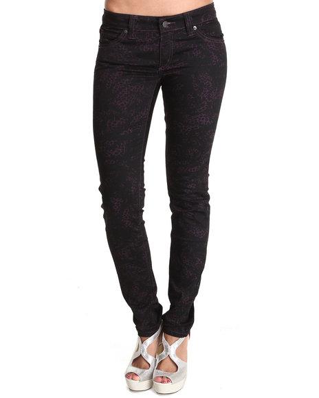 Lrg - Women Maroon The Pennsylvania Skinny Pant