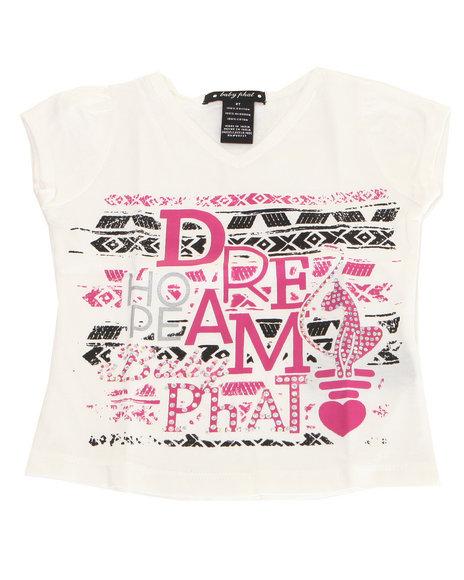 Baby Phat - Girls White Dream Tee (2T-4T)