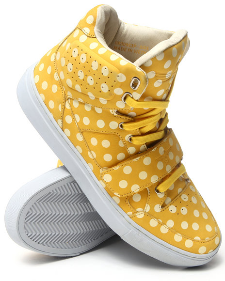 Creative Recreation Yellow Cota Hightop Sneaker