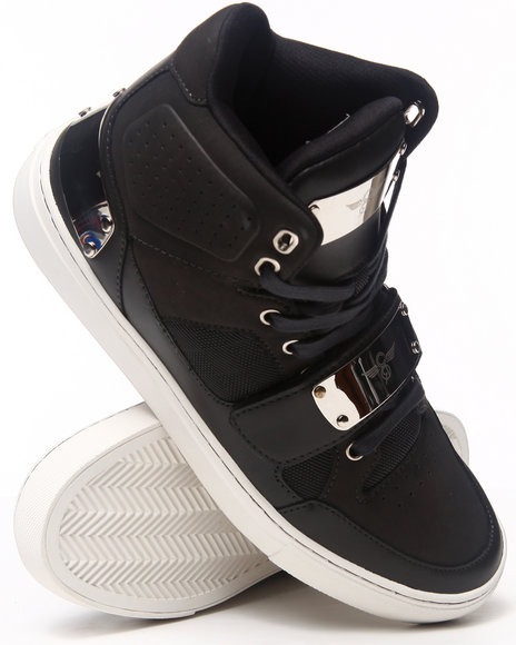 Creative Recreation Charcoal,Silver Cota Hightop Plated Sneaker