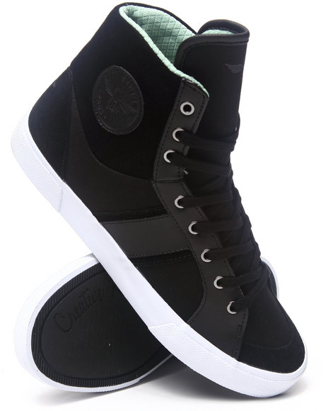 Creative Recreation Black Fenelli Hightop Sneaker