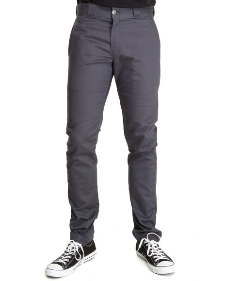 Dickies Charcoal Skinny Straight Fit Denim Jeans