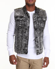 Outerwear - Acidic Sleeveless Denim Vest