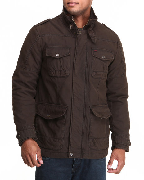 Levi's Brown Brown 4 Pocket Field Jacket