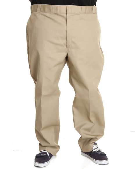 Dickies Khaki Original Dickies 874 Pant (Big & Tall)