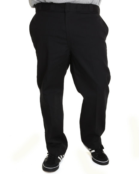 Dickies Black Original Dickies 874 Pant (Big & Tall)
