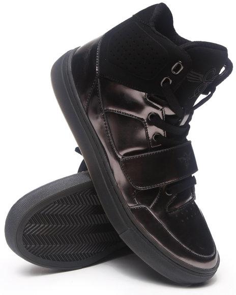 Creative Recreation Black Cota Patent Leather Hightop Sneaker