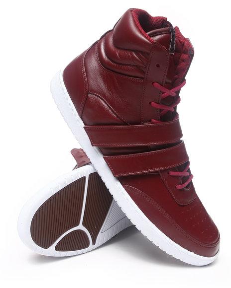 Radii Footwear - Men Maroon Cufflinks Sneakers