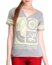 Tops - Starr V-Neck Jersey tee