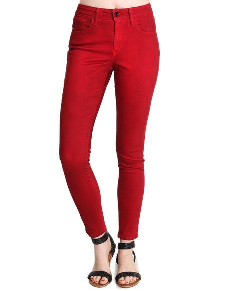 Levi's Red Hi Rise Skinny Jean