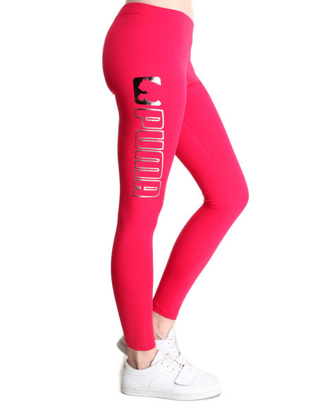 Puma Pink Puma Metals Leggings