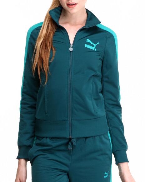 Puma - Women Teal T7 Track Jacket