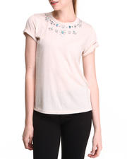 Tees - JEWELED TUNIC