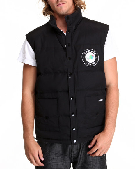 Slowbucks Black Puff Vest