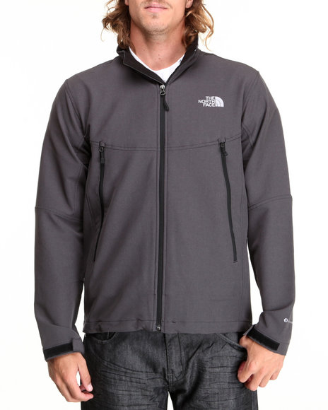 The North Face - Men Black,Grey Rdt Softshell Jacket