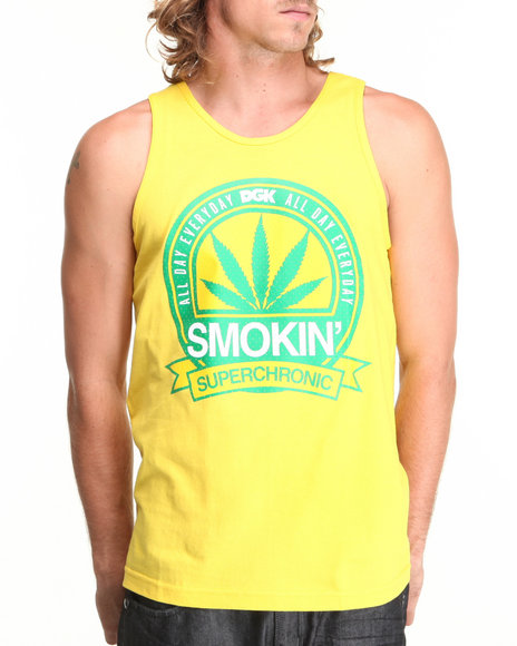 DGK Yellow Super Chronic Tank