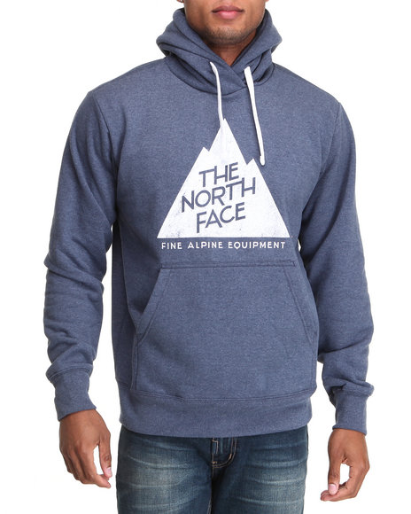 The North Face Blue Alpine Peak Pullover Hoodie