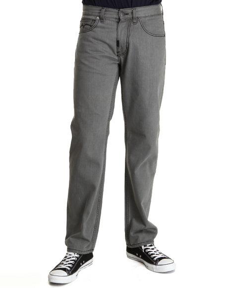 Lrg - Men Grey Magnificent 47 True-Straight Denim Jeans
