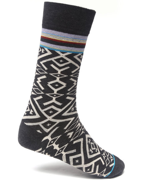 Stance Socks Men Casablanca Socks Grey LargeXLarge