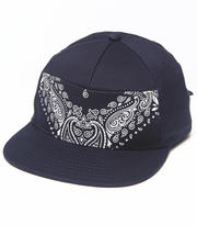 Men - Stitch Tie Back Hat