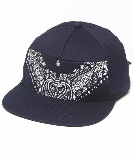 Dope Men Stitch Tie Back Hat Navy